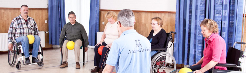 Anders Actief is verantwoord bewegen met een lichamelijke handicap